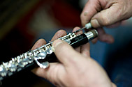 Woodwind servicing